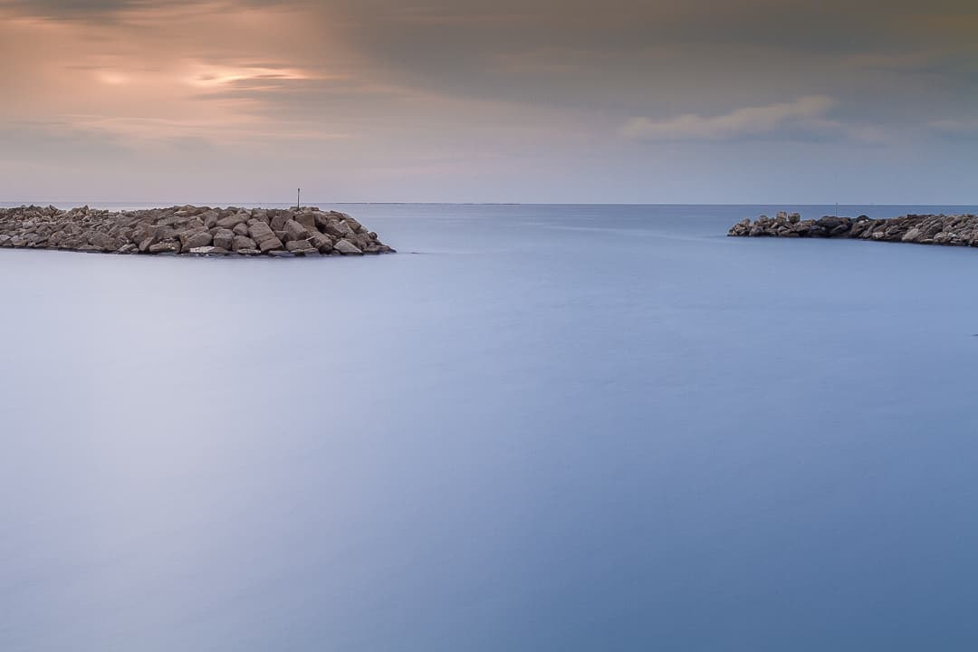 series outside landscape cityscape photo by taspho photography-cyprus beach calm rocks