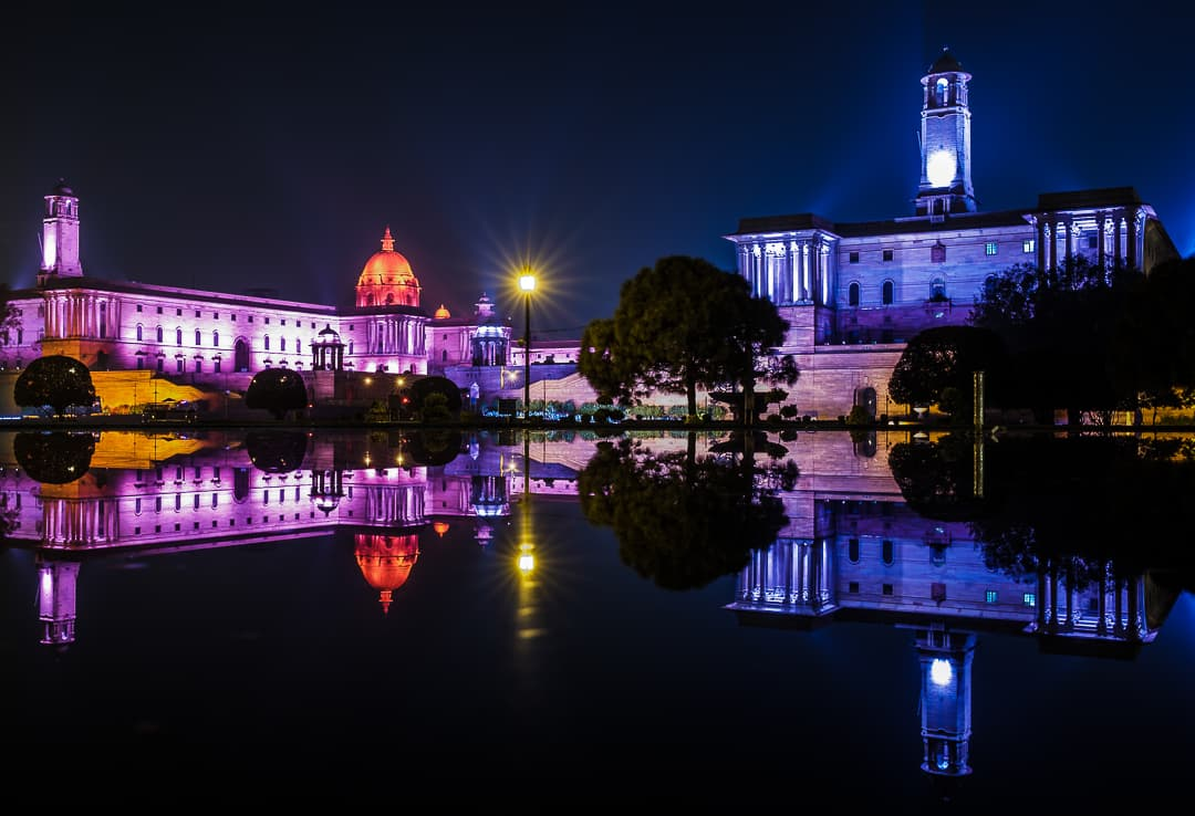 series outside landscape cityscape photo by taspho photography-indian parliament delhi