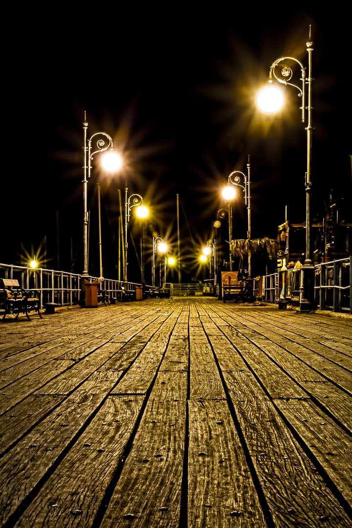 series outside landscape cityscape photo by taspho photography-larnaca marina cyprus at night