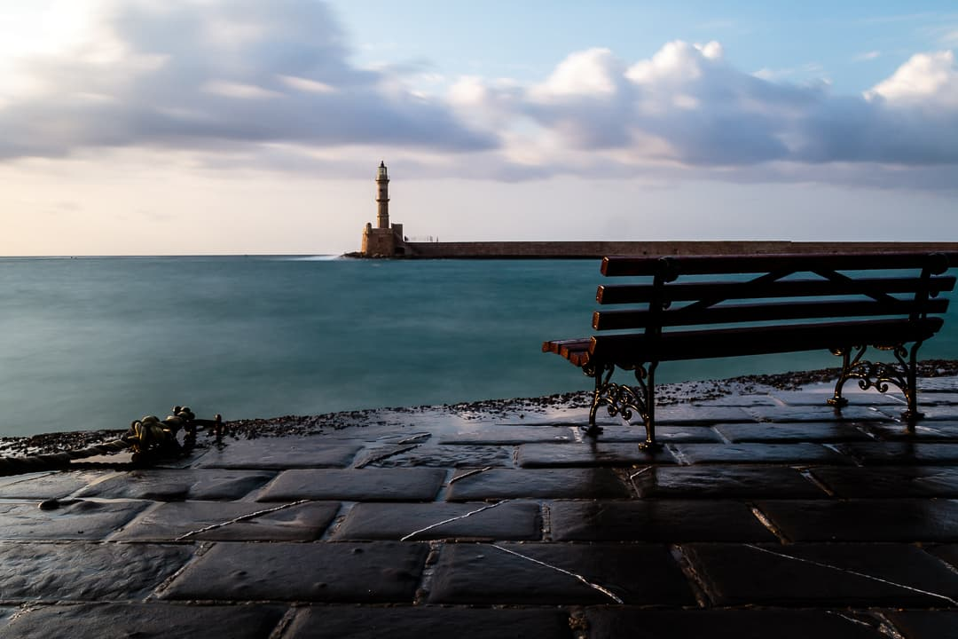 series outside landscape cityscape photo by taspho photography-old harbor chania lighthouse