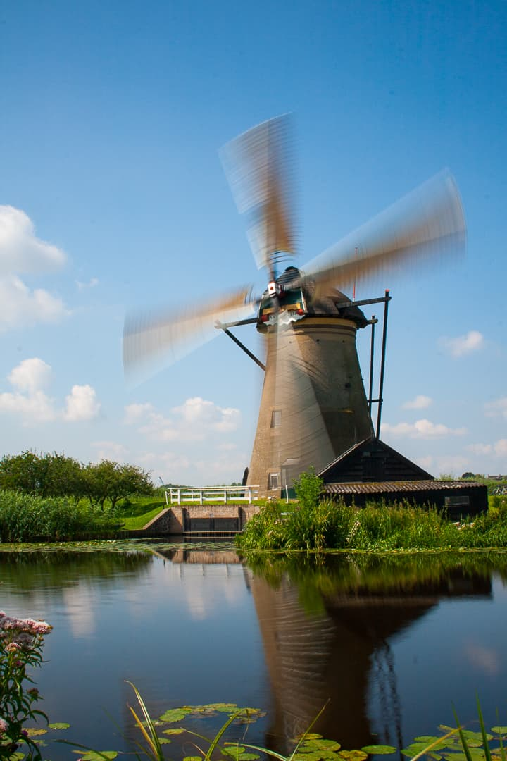 series outside landscape cityscape photo by taspho photography-windmill in rotterdam holland