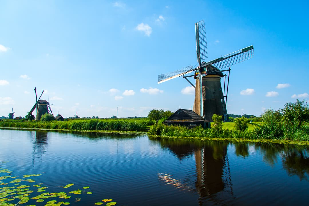 series outside landscape cityscape photo by taspho photography-windmills in rotterdam holland